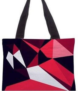 snoogg multicolor poly canvas shoulder shopping bag ( s_rsx344 )