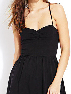 laid back ruched dress