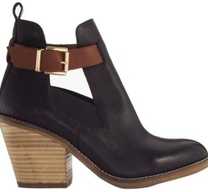 asos roam around leather ankle boots