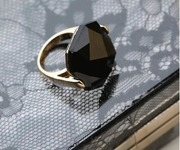 a bold move black crystal ring