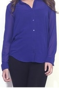 thegudlook womens solid casual shirt