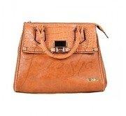brown flap satchel bag kiosha