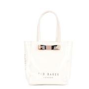 small bow shopper bag