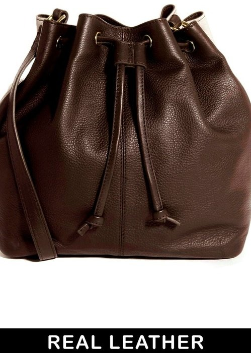 Asos Leather Shoulder Duffle Bag 59
