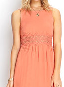 laurel canyon crochet dress