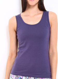 amari west women purple tank top