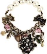 charm bracelet by the paribr100
