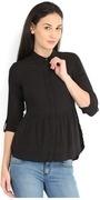 lee cooper women black shirt