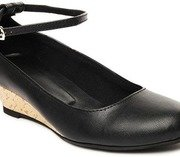 cocoon women black heeled shoes
