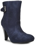 bruno manetti women navy suede boots