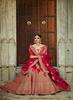 Kimora Red Lehenga