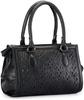 laser cut-out handbag