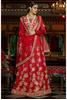 Magnificent Maroon Colored Embroidered Art Silk Bridal Lehenga Choli 11115