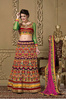 heavy embroided maroon color lehenga suite